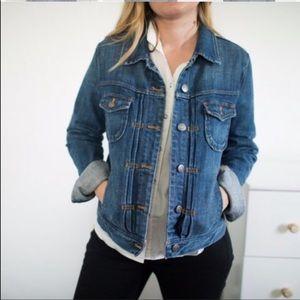 J.Crew light blue jean jacket M B9
